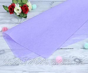 Бумага тишью (папиросная),сиреневая.