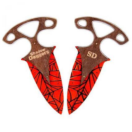 Ножи тычковые CS GO (Crimson Web) DAG-S