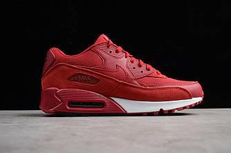 Кроссовки Nike Air Max 90 Essential Gym Red Suede 537384-604 женские красные