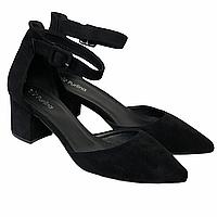 Туфлі жіночі 96373 чорні (на підборах)