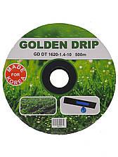 Капельная лента GOLDEN DRIP с плоским эмиттером 10см 500м 8 mil