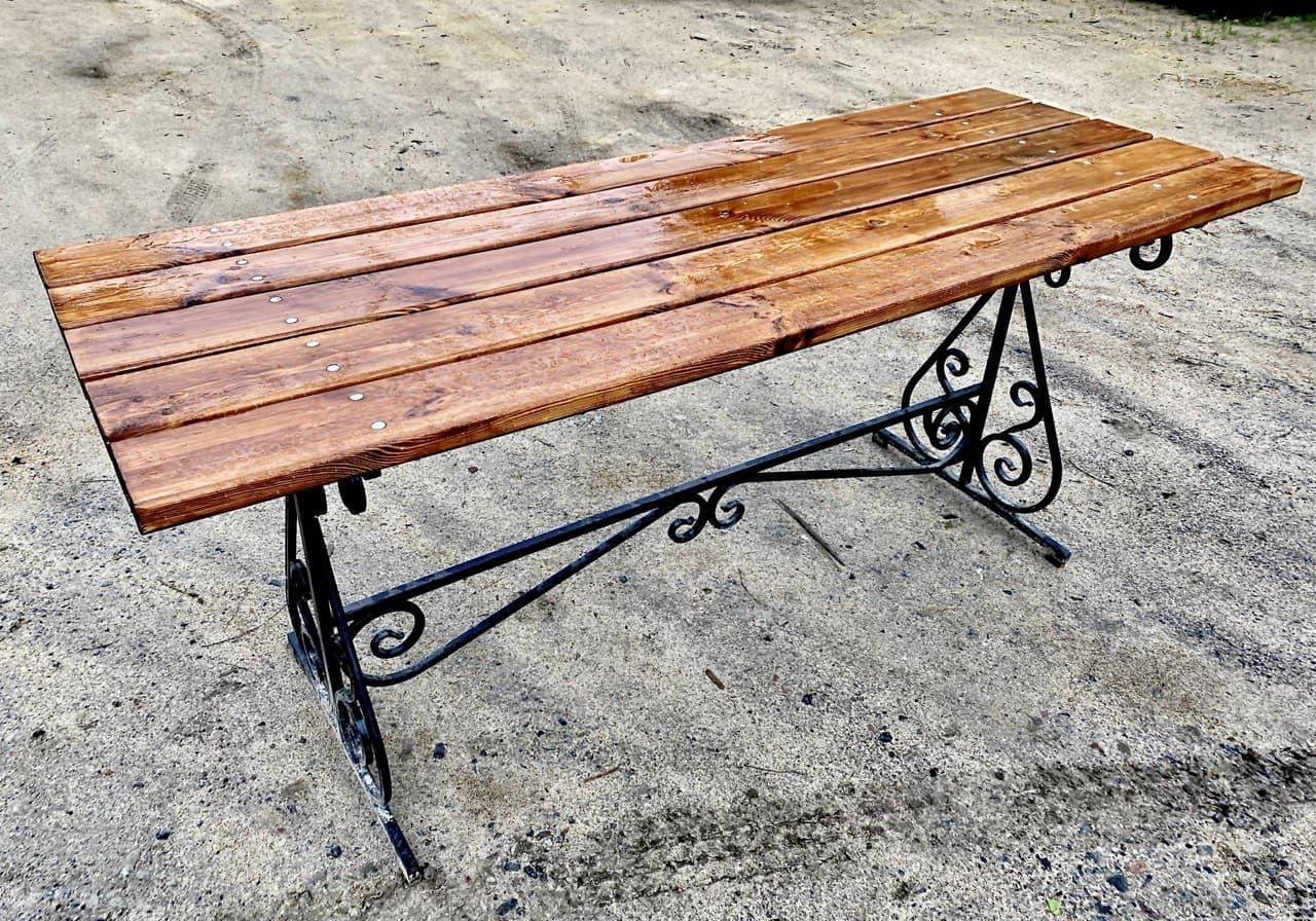 Стол уличный садовый на 6 человек RODICA