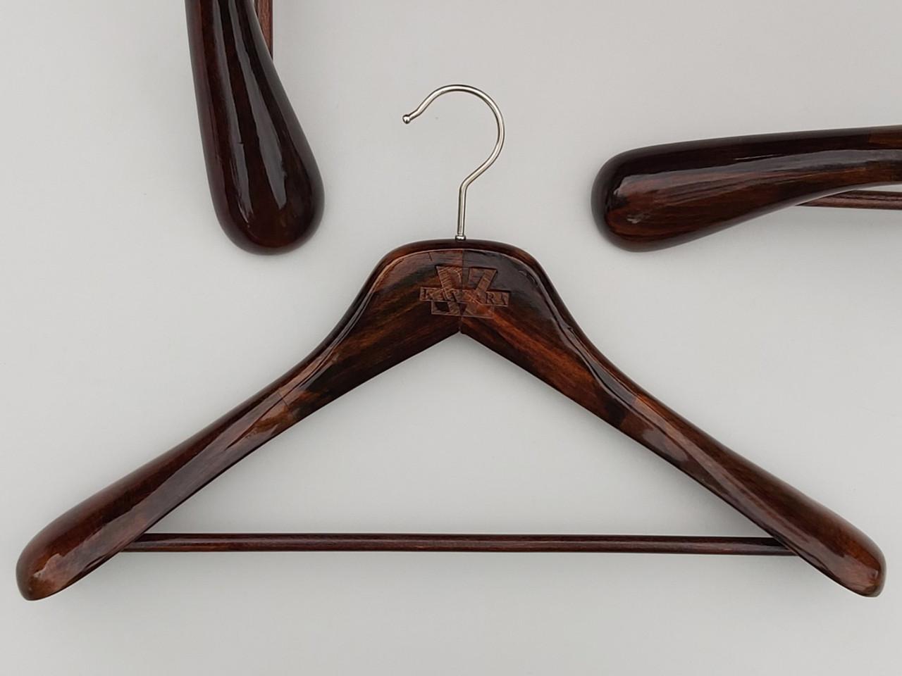Плічка довжиною 45 см вішалки дерев'яні Mainetti Kazara Royal-2