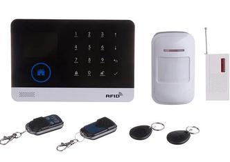 Сигналізація для будинку Сенсорна GSM з датчиком руху і WIFI Alarm JYX-W-G600 MBF