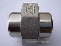 Нержавеющая муфта S/S DN 100 соединение металл-металл