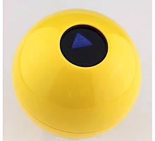 Шар для принятия решений большой 11 см желтый ( шар предсказатель )