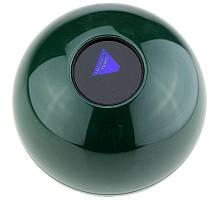 Шар для принятия решений большой 11 см зеленый ( шар предсказатель )