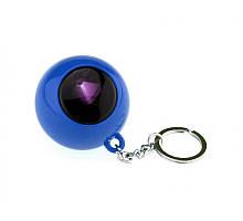 Шар для принятия решений - брелок синий ( шар предсказатель )