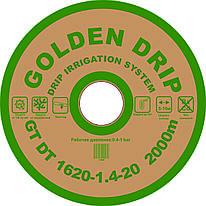 Капельная лента GOLDEN DRIP с плоским эмиттером 20см 2000м 8 mil