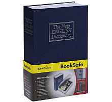 Книга - сейф большая Словарь 24 см. ET синяя (DV-56)