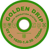Капельная лента GOLDEN DRIP с плоским эмиттером 30см 1000м 8 mil