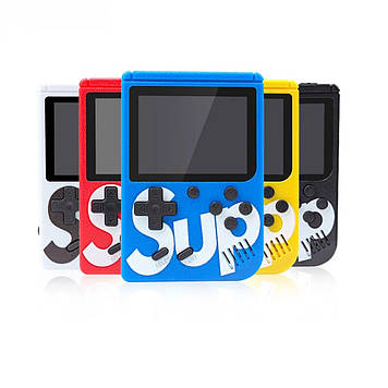 Портативная игровая приставка | Консоль | Тетрис | dendy | Гейм-Бокс SUP 400 игр Game BOX SUP