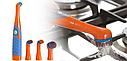 Електрична щітка для прибирання з 4 насадками Sonic Cleaner, фото 2