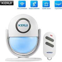 Беспроводная Wifi сигнализация Kerui WP7 охрана гаража, умный дом ! Гарантия 24 месяца!