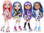 УЦЕНКА! Кукла Рейнбоу хай слайм Фиолетовая Леди - Rainbow Surprise High Girls Amethyst Rae 571193 Оригинал, фото 4