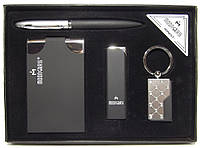 Подарочный набор MOONGRASS (ручка + брелок + визитница + зажигалка), фото 1