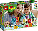Конструктор LEGO Duplo 10915 Вантажівка Алфавіт, фото 7