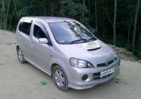 Ветровики Daihatsu YRV 2000-2006 Cobra Tuning