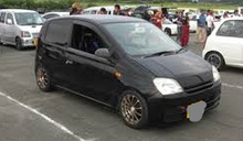 Ветровики Daihatsu Cuore 3d (L251) 2003-2007 Cobra Tuning