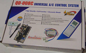 Универсальная плата управления кондиционером QD-U08C