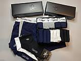 Мужские трусы боксеры и носки (5 шт.) + носки (8 пар).(в подарочных коробках. Трусы транки боксеры шорты, фото 6