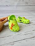 Детские кроксы/сабо/пляжная обувь для детей Luckline 18-19р, 12см