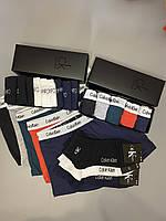 Мужские трусы боксеры и носки (5 шт.) + носки (12 пар).(в подарочных коробках. Трусы боксеры шорты 7