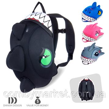 Детский рюкзак для мальчика Черный Дракон Crazy Safety