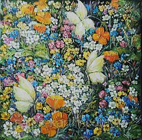"""Картина """"Цветут травы"""""""