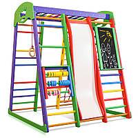 Детский спортивный комплекс для дома SportBaby «Акварелька Plus 7»