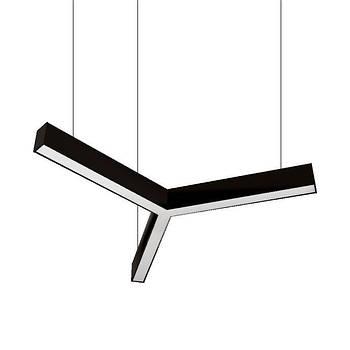 Светильник из Алюминиевого LED Профиля 87W Y-Образный 1000x55x60мм
