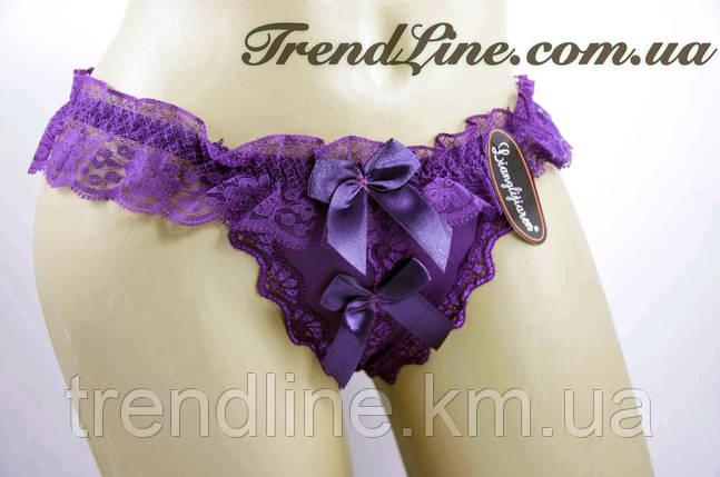 Трусики стринги Lianglijiaren № 101 Фиолетовый, фото 2