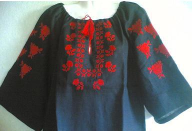 Вишиванка жіноча льон, фото 2