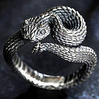 Кільце змія Регульований розмір Стильна прикраса Біжутерія