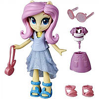 Мини-кукла Флаттершай со съемным нарядом, обувью и аксессуарами