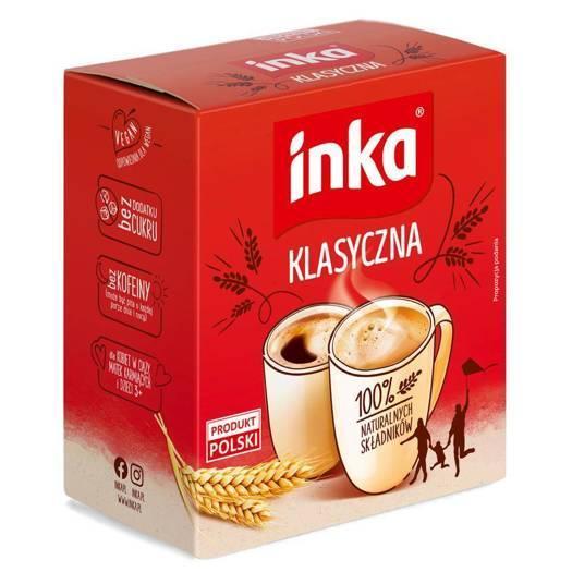 Кофейный напиток растворимый ячменный Inka, 150г (Польша), без кофеина
