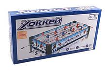 Хокей дерев'яний 2222 A (6) на штангах, в коробці