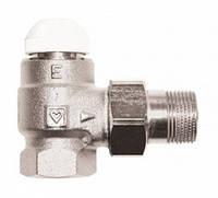 """Термостатический клапан 1"""" TS-E угловой 1 7724 03 HERZ"""