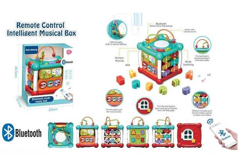 Музичний Куб 9933 (12) звукові та світлові ефекти, англійське озвучення, в коробці