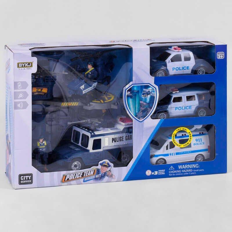 Набір Поліції 8835 В (8) світло, звук, в коробці