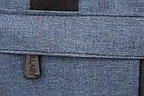 Спортивна Сумка синього кольору для чоловіків і жінок (213сн), фото 5