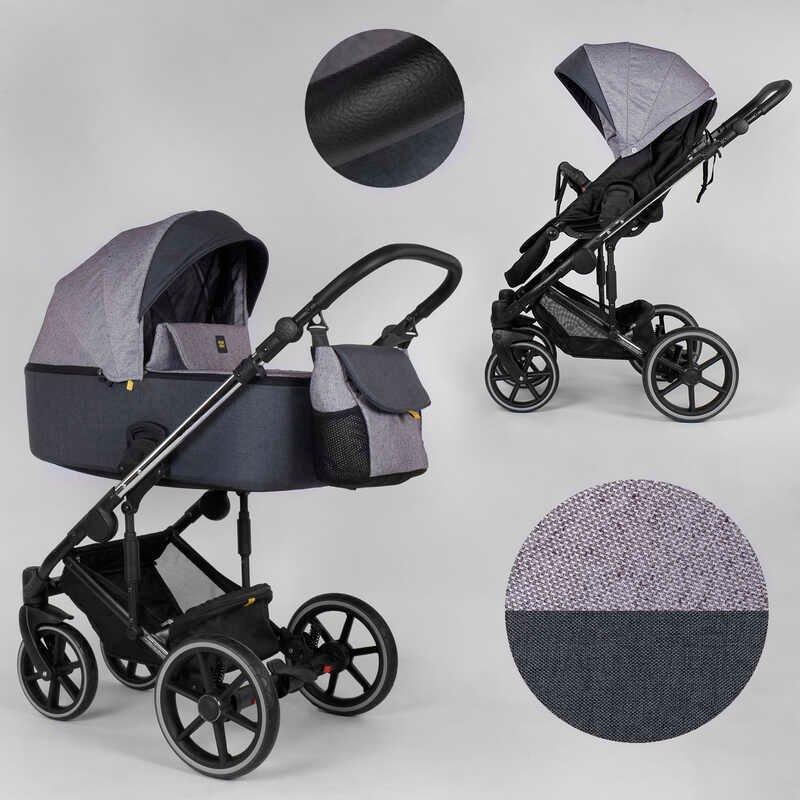 Детская коляска 2 в 1 Expander EXEO  EX-32155 (1) цвет Purple, ткань с водоотталкивающей пропиткой