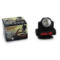 Налобный фонарь Bailong BL 2001 4SMD XPE Led c USB зарядкой Черный