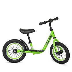 Беговел PROFI KIDS детский 12 д. M 4067A-2 (1шт) рез.колеса, метал.обод, вис.до сидіння 30-43см, зелен