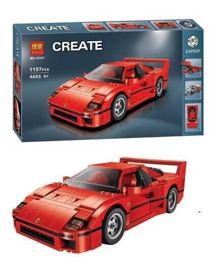 "Конструктор 10567 (24) ""Авто-конструктор"", 1157 деталей, в коробці"
