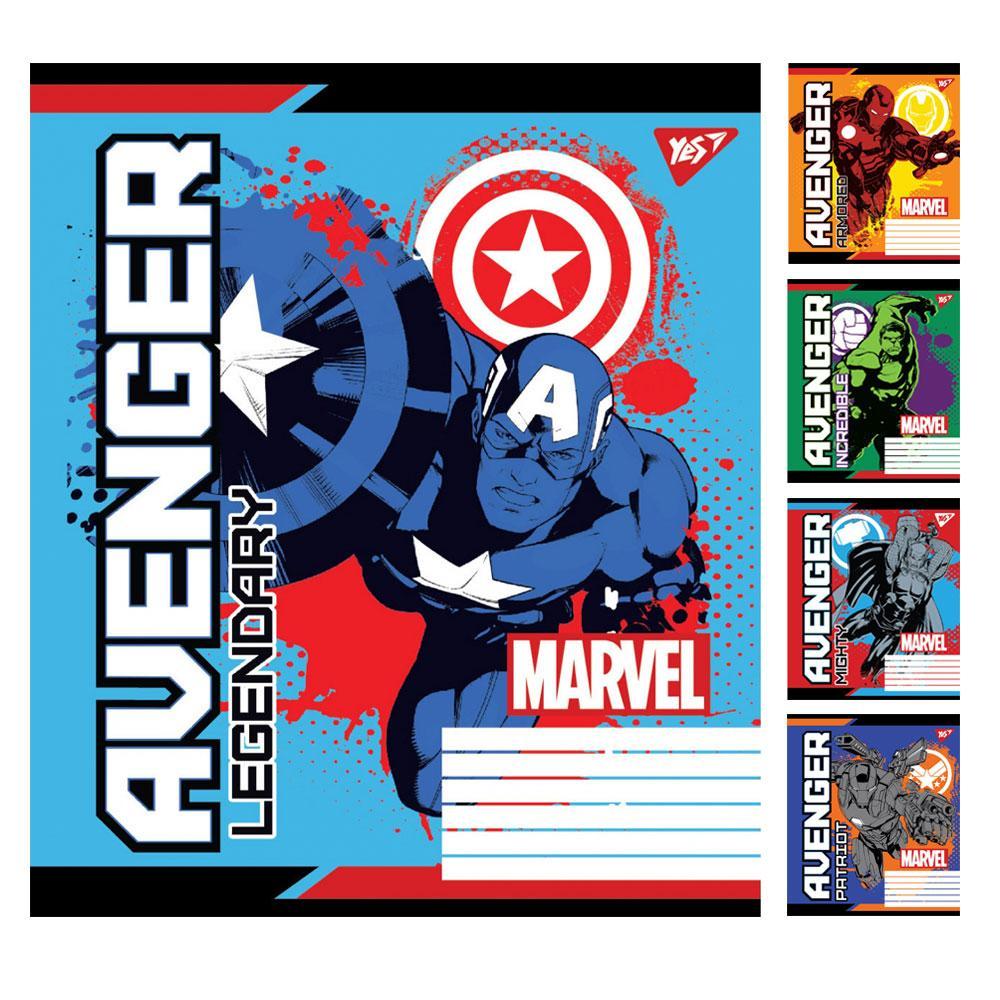 А5 / 18 кл. YES Avengers. Legends, зошит вчений.
