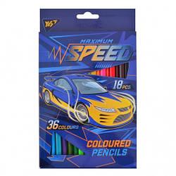 "Карандаши 1836 цв. ""Speed car"""