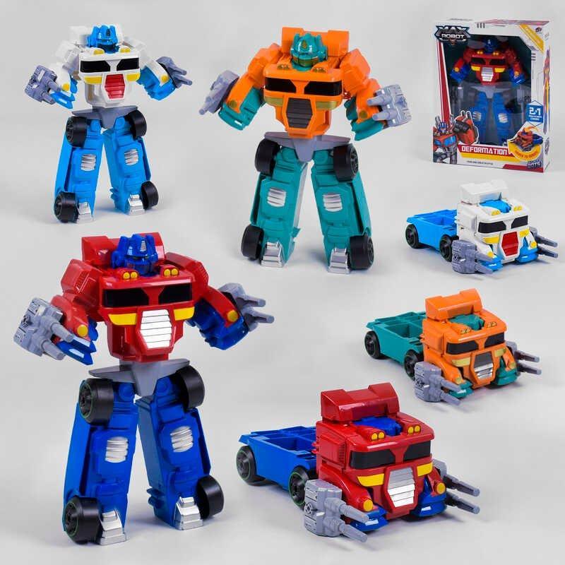 Трансформер L 015-65 /66/67 (12) 3 цвета, в коробке