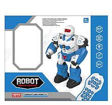 Робот на радіоуправлінні 7707 (18) розбірний, світло, звук, ходить, танцює, програмується, англійська озвучка,