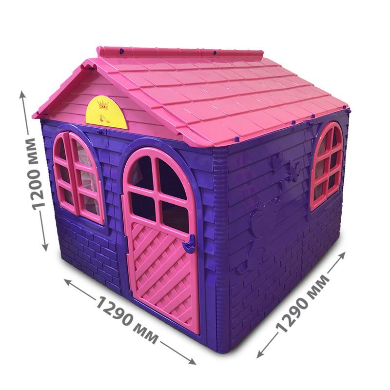"""Дом со шторками"" 129.0 x 129.0 x 120.0 см, артикул 025501 DOLONI-TOYS"